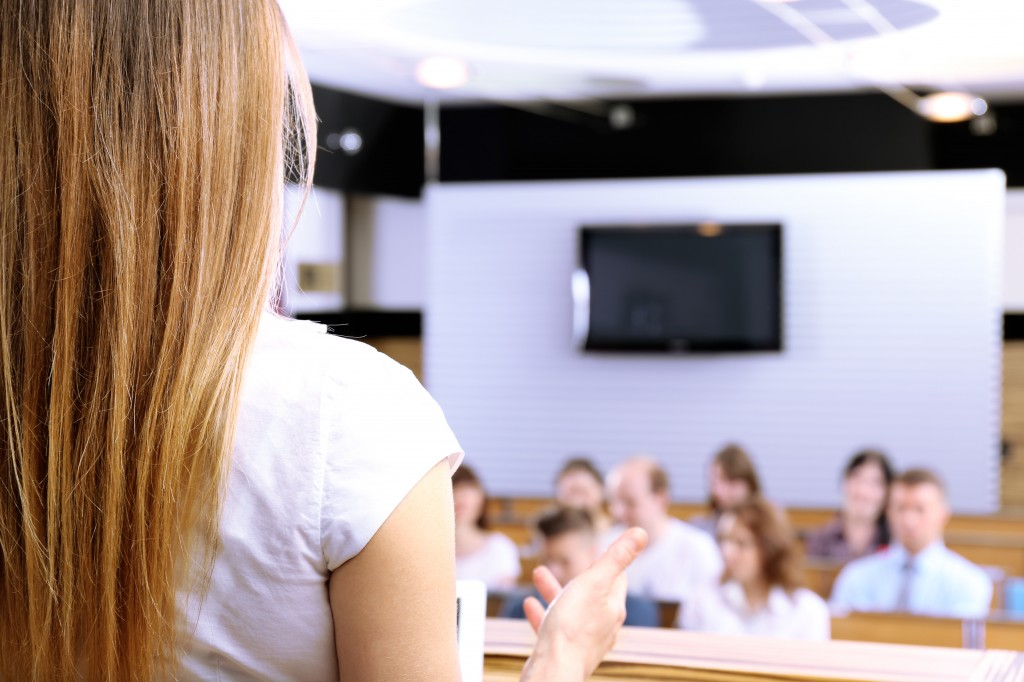 asking questions during a seminar