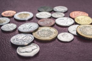 coins from many countries